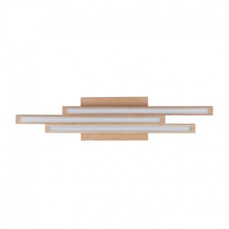 Lae pinnapealne valgusti, Laevalgusti Linus Straight, Kask, 3xLed