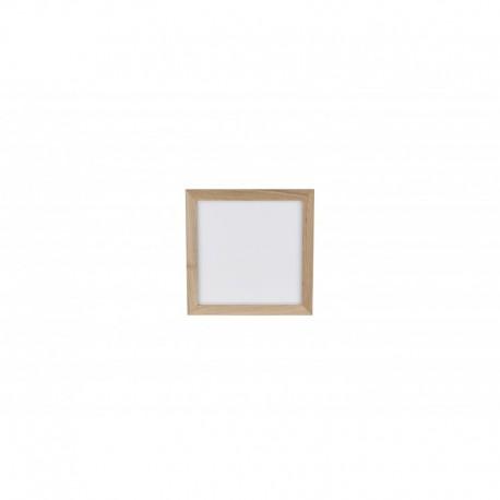 Lae pinnapealne valgusti, Laevalgusti Vivica, Õlitatud tamm/ valge, 1xLed