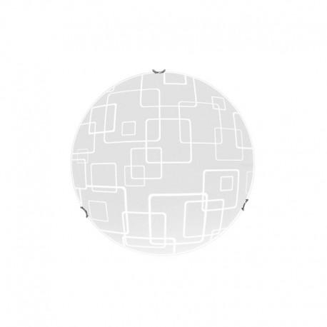Laevalgusti DALLAS M, Kroom/ valge, 1xLED