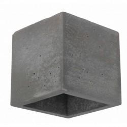 Seinavalgusti BLOCK, Betoon/ labipaistev, 1xG9