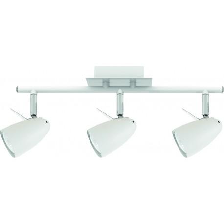 Laevalgusti IAN, Valge/ Kroom, 3xGU10 LED