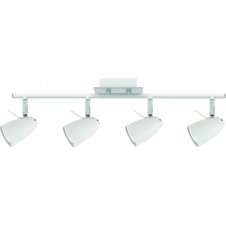 Laevalgusti IAN, Valge/ Kroom, 4xGU10 LED