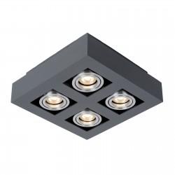 Casemiro, Must/ alumiinium, 4xGU10