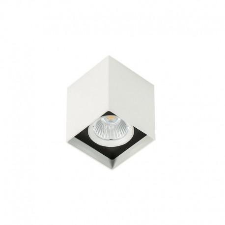 Lae pinnapealne valgusti Alden White Black 3000K, Valge/ must