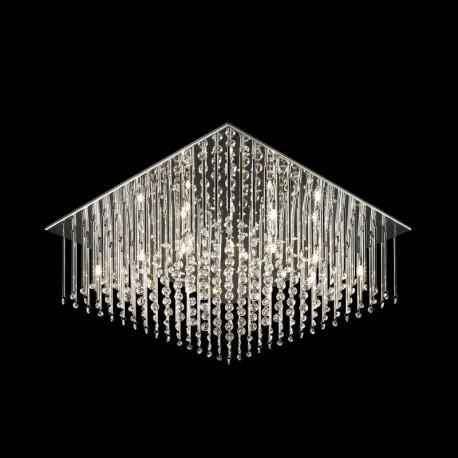 Lae pinnapealne valgusti Angel, Kroom, 12xG4