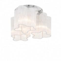 Lae pinnapealne valgusti Antonio, Kroom, 3xE27