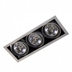 Lae pinnapealne valgusti Arlo SV, Hobedane, 3xMR-111