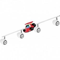 Laevalgusti CAR, Valge/ Kroom, 4xGU10 LED